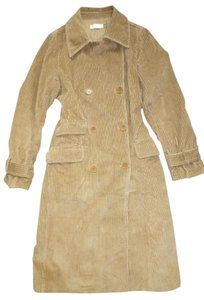 J.Crew Double-breastd Corduroy Trench Machine Washable Trench Coat
