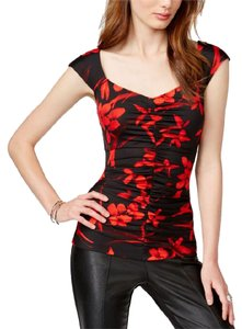Guess Top Black red