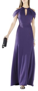 BCBGMAXAZRIA Gown Cutout Bcbg Formal Keyhole Dress