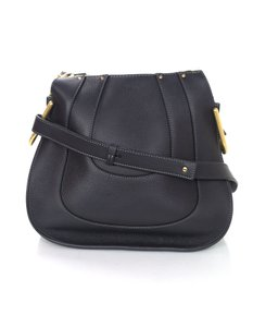Chloé Chloe Hayley Leather Saddle Shoulder Bag