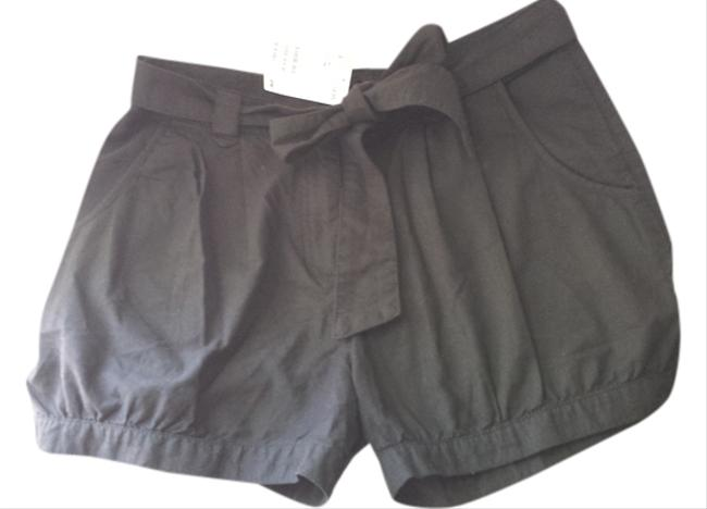 H&M Boyfriend Dress Shorts Black