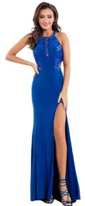 Rachel Allan Prom Fitted Beading Dress