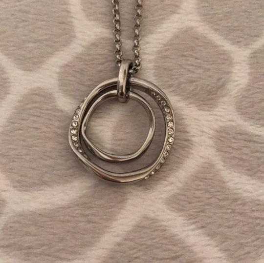 Fossil Long Twist Pendent