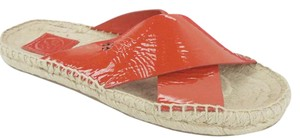 Tory Burch 6120801 Flat Espadrille Red Sandals