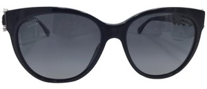 Chanel Cat Eye Black Bijou Chanel Sunglasses 5336-H-B c.501-S8 57