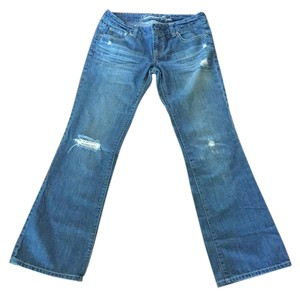 (sold)American Eagle Outfitters Boyfriend Cut Jeans-Distressed