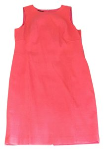 Lafayette 148 New York short dress pink on Tradesy