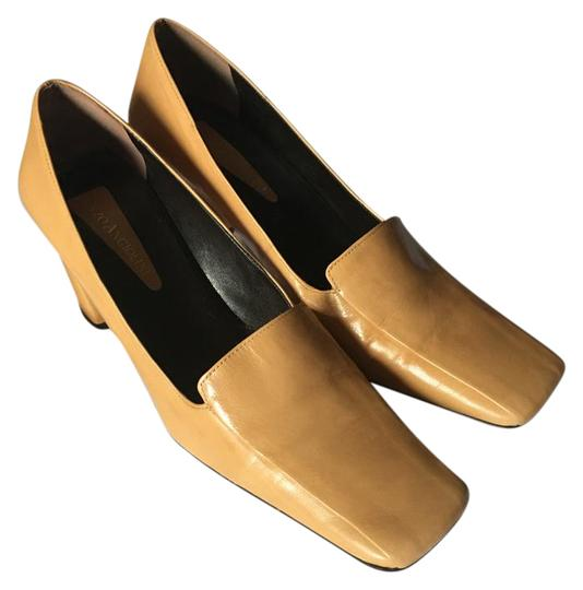 Preload https://item2.tradesy.com/images/enzo-angiolini-mustard-slip-on-squared-toe-and-heel-leather-pumps-size-us-8-regular-m-b-20569301-0-1.jpg?width=440&height=440