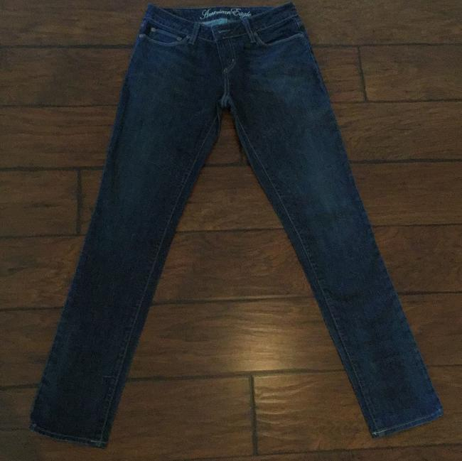 Preload https://item3.tradesy.com/images/american-eagle-outfitters-dark-rinse-skinny-jeans-size-29-6-m-20569322-0-0.jpg?width=400&height=650