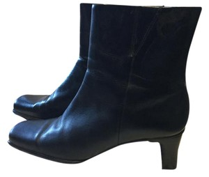 Diba Ankle Leather black leather Boots
