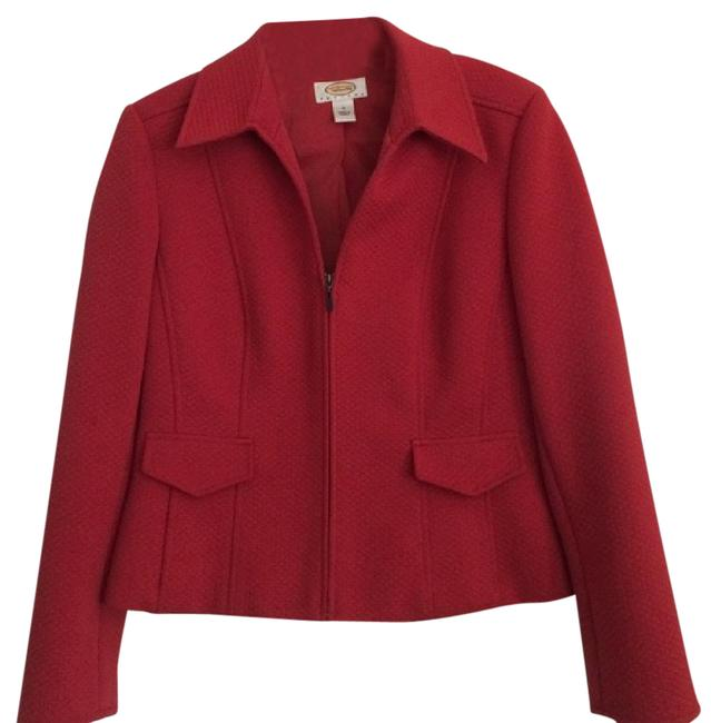 Preload https://img-static.tradesy.com/item/20569378/talbots-red-muted-blazer-size-petite-8-m-0-1-650-650.jpg