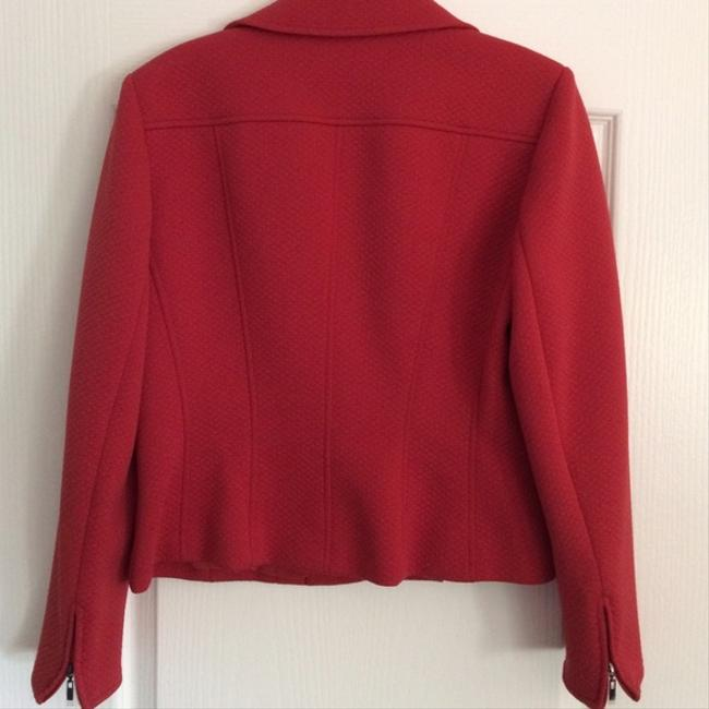 Talbots Red (muted) Blazer