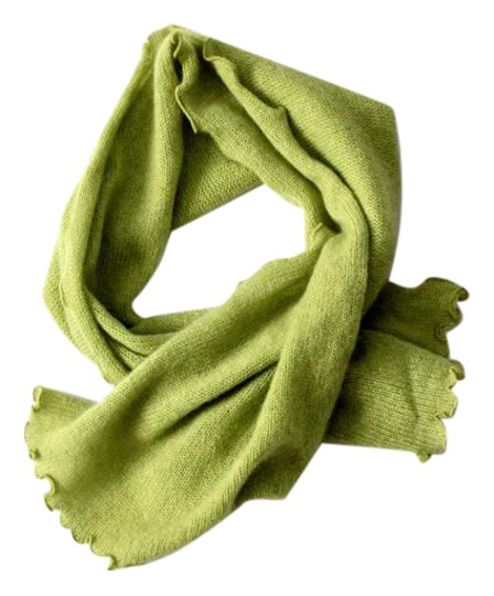 Preload https://item2.tradesy.com/images/green-cashmere-scarfwrap-20569391-0-1.jpg?width=440&height=440