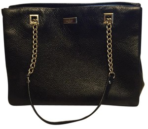 Kate Spade Tote in black with slight shimmer