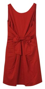 Kate Spade short dress Red Bow Night Out Date Night Work on Tradesy