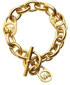 Michael Kors Michael Kors gold chain toggle bracelet