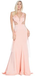 Bicici & Coty An694 Trumpet Prom Dress