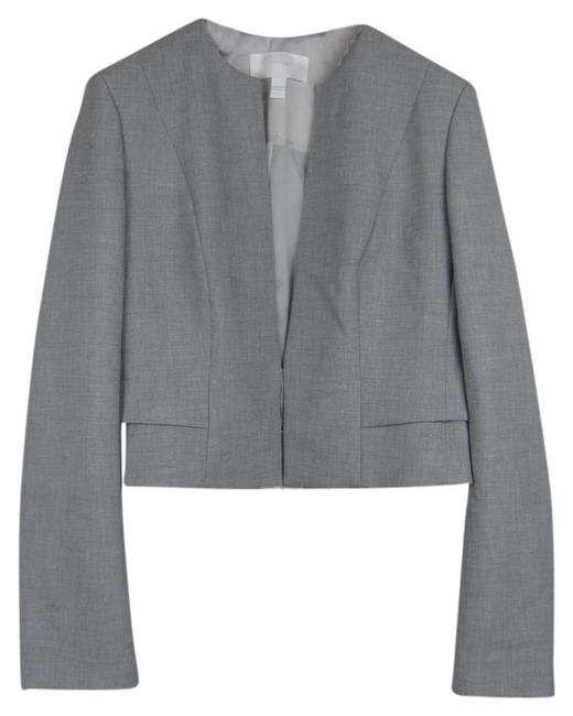 Preload https://img-static.tradesy.com/item/20569458/hugo-boss-grey-jiopela-crop-jacket-blazer-size-8-m-0-1-650-650.jpg