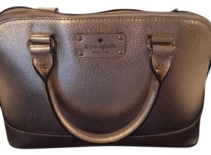 Kate Spade Satchel in Metallic