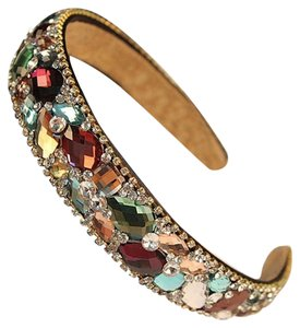Other Gem Multi-Colored Glass Headband