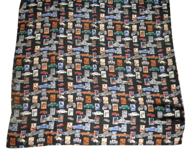 Item - Multi Color Cars On Black Background Benzl Scarf/Wrap
