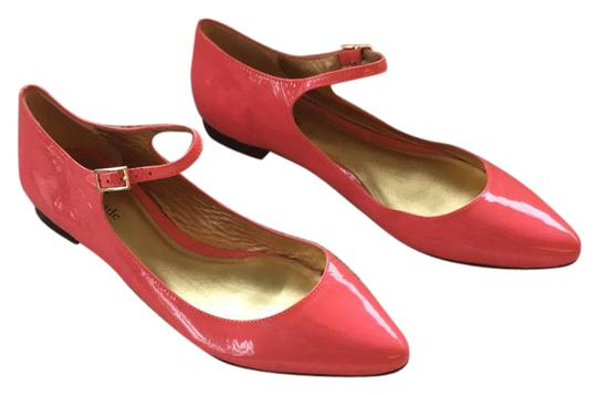 Preload https://item5.tradesy.com/images/kate-spade-hot-pink-coral-patent-ballet-mary-jane-style-with-pointed-toe-flats-size-us-75-regular-m--20569534-0-1.jpg?width=440&height=440