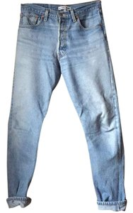 RE/DONE Straight Leg Jeans
