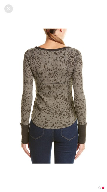Free People T Shirt Leopard