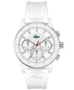 Lacoste Lacoste Silicone Strap Charlotte Chronograph Watch 2000800