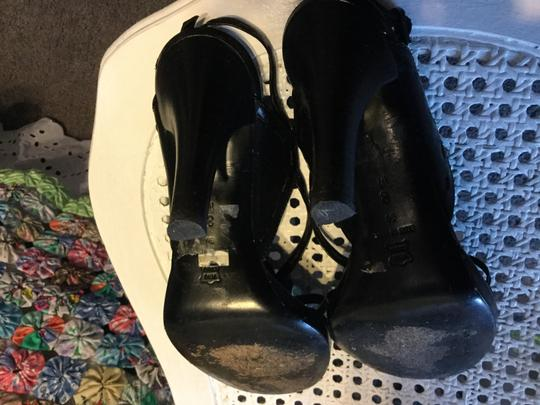 Via Spiga Size 8 black leather Pumps
