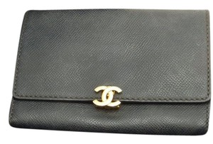 Chanel Chanel Calfskin Short Wallet Clutch