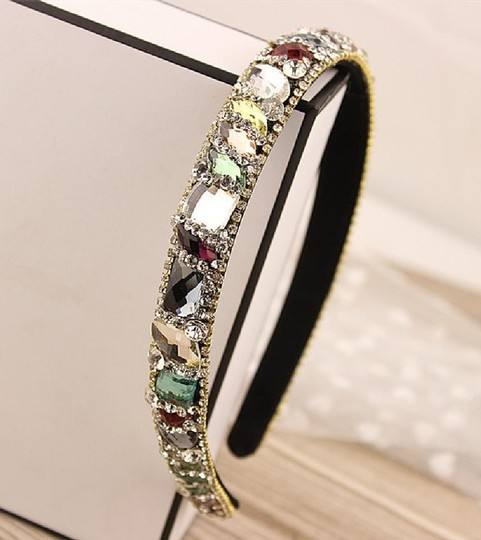 Preload https://item1.tradesy.com/images/multi-colored-marquise-gem-crystal-headband-hair-accessory-20569685-0-0.jpg?width=440&height=440