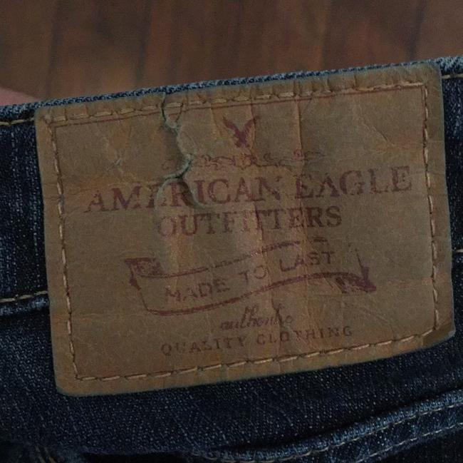 American Eagle Outfitters Straight Leg Jeans-Medium Wash