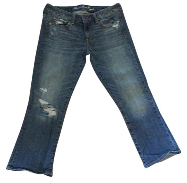 Preload https://item1.tradesy.com/images/american-eagle-outfitters-medium-rinse-distressed-vintage-flare-crop7106-capricropped-jeans-size-32--20569795-0-1.jpg?width=400&height=650