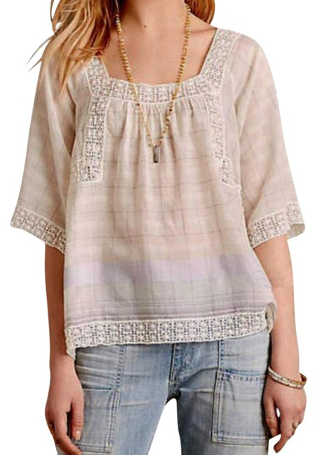 Preload https://img-static.tradesy.com/item/20569825/anthropologie-ivory-shani-peasant-blouse-size-0-xs-0-11-650-650.jpg