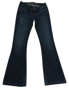 Abercrombie & Fitch Flare Leg Jeans-Dark Rinse