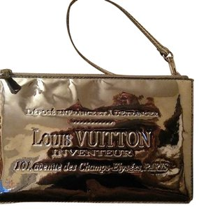 Louis Vuitton RARE Mirror Inventeur Pouchette clutch