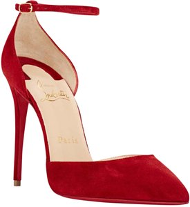 Christian Louboutin Ankle Strap Uptown Louboutin Uptown Louboutin Louboutin 100mm Red Pumps