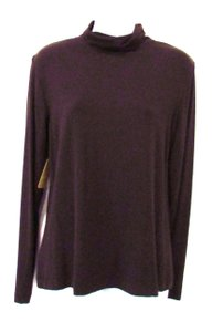 Chico's Long Sleeve Top Brown