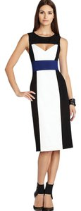 BCBGMAXAZRIA Cutout Colorblock Bcbg Pencil Dress