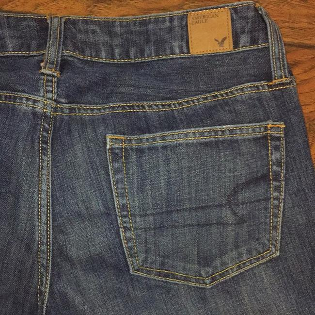 American Eagle Outfitters Capri/Cropped Denim-Medium Wash