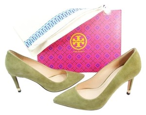 Tory Burch Oliver Green Pumps