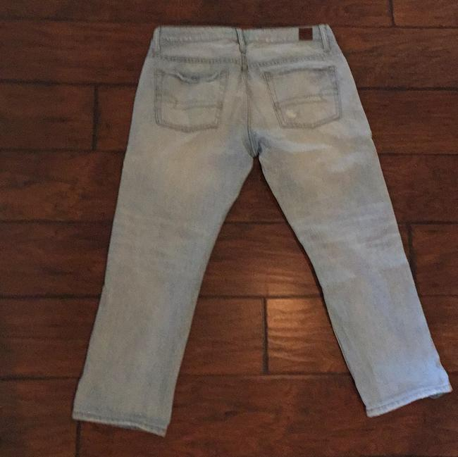 American Eagle Outfitters Capri/Cropped Denim-Distressed