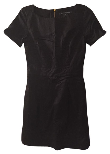 Preload https://item5.tradesy.com/images/french-connection-black-cornucopia-cotton-flared-short-cocktail-dress-size-2-xs-20570149-0-1.jpg?width=400&height=650