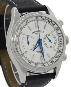 Armand Nicolet Armand Nicolet Tramelan M02 Chronograph 9144A Steel White Watch