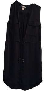 H&M short dress navy blue on Tradesy
