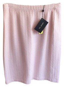 St. John Sport by Marie Gray Skirt pink print plaid