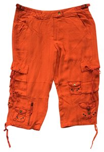 Da-Nang Capri/Cropped Pants Orange