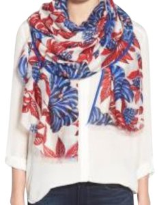 Tory Burch Tory Burch Oversized Floral Scarf