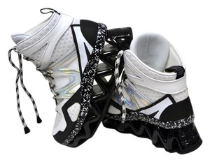 Marc by Marc Jacobs Sneakers Boots Chic Off White, Black Athletic